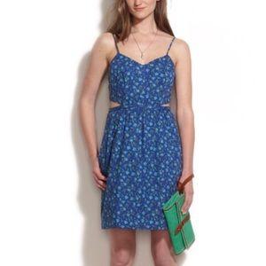 Madewell Rosette Cutout Cami Dress